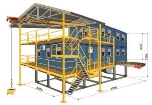 Модульная обогатительная установка (МОУ) для выделения крупного золота с целью подготовки геологических проб к пробирному анализу