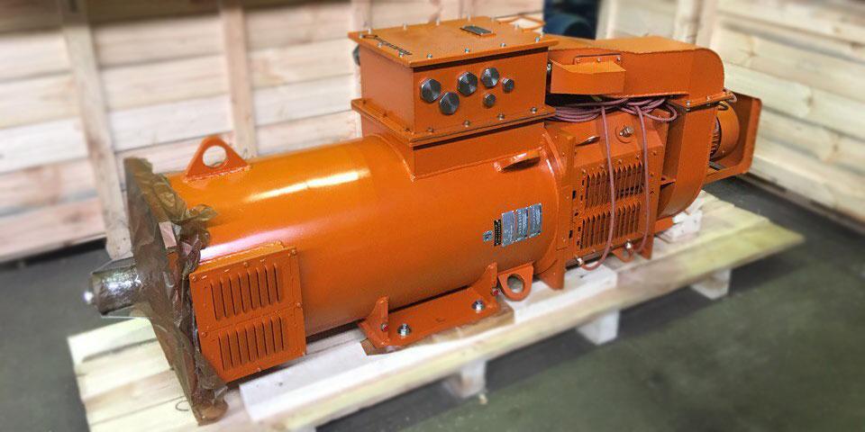 двигатель для буровой установки