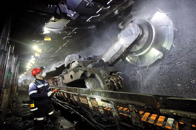 подземная добыча угля