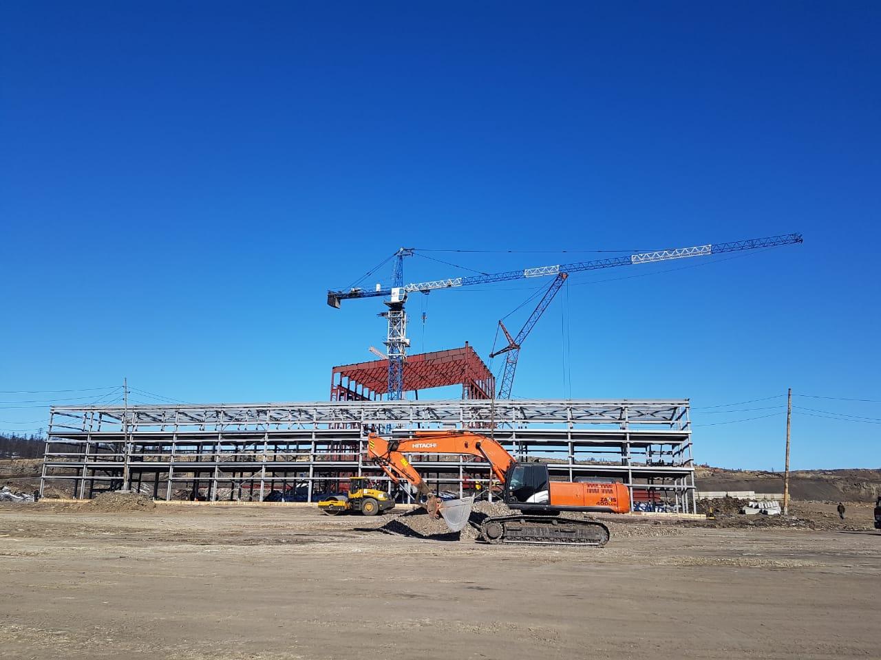 строительство фабрики Инаглинская-2