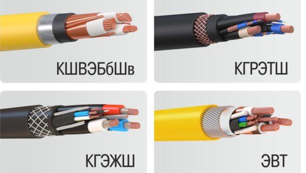 шахтные кабели