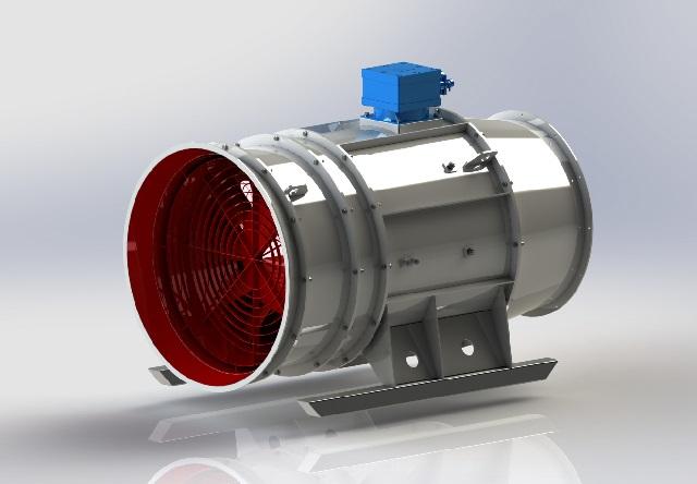 колесо для шахтных вентиляторов