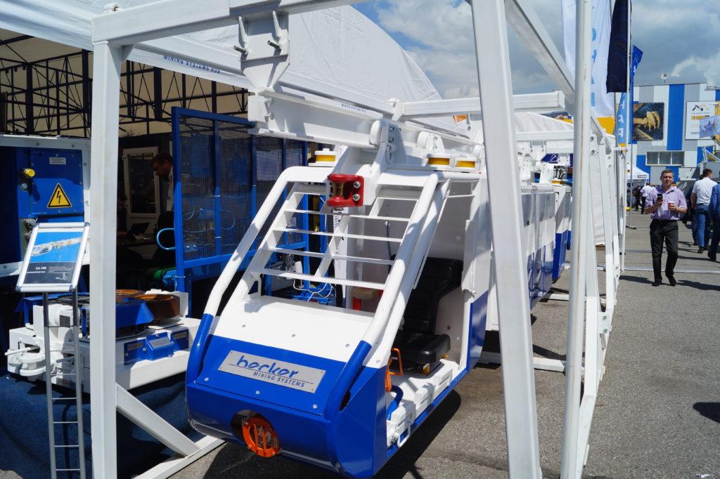 Аккумуляторный маневровый тягач СА-190, Уголь России и Майнинг 2019