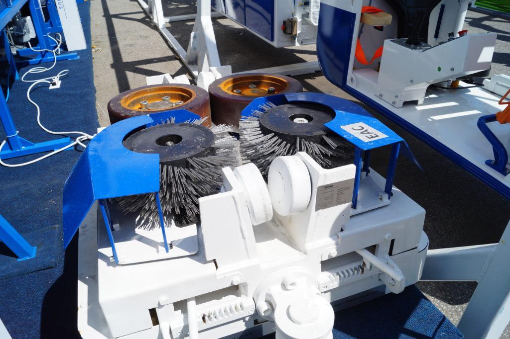 Оборудование для очистки монорельсов, Becker, Уголь России и Майнинг 2019