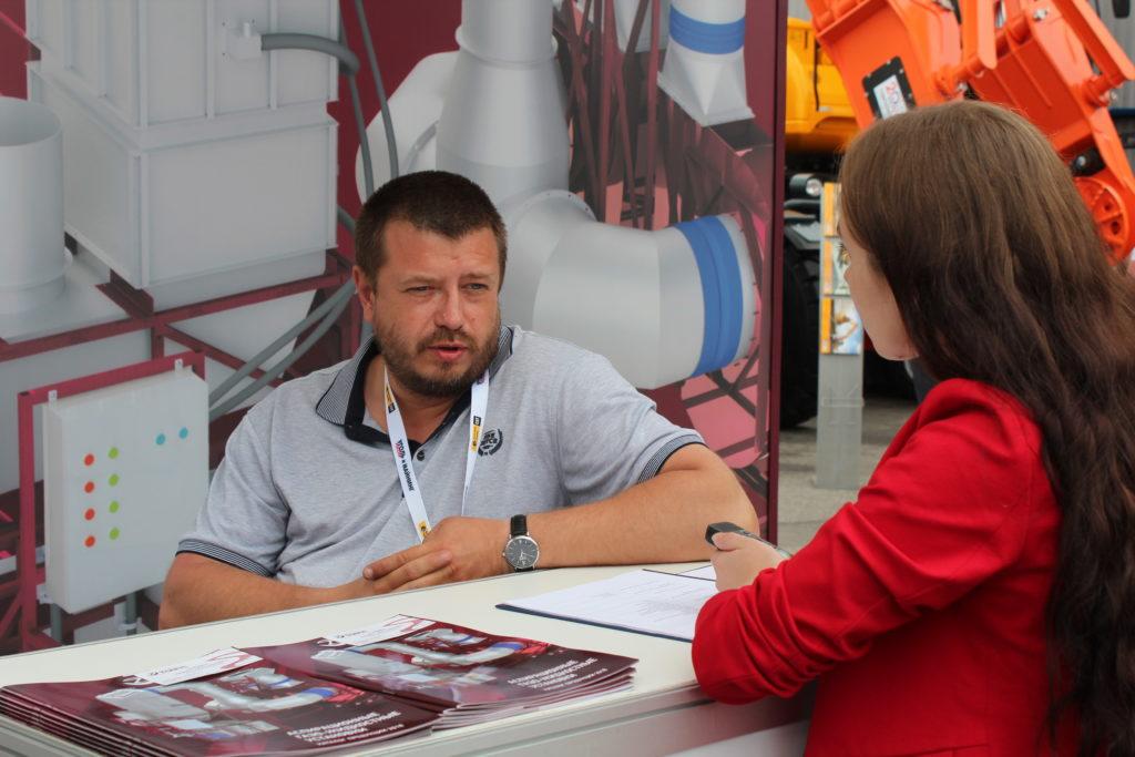 Разработчик аспирационного оборудования компании Александр Рязановский , Уголь России и Майнинг 2019