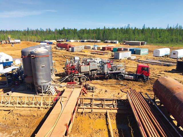 Тампонирование нефтяных скважин