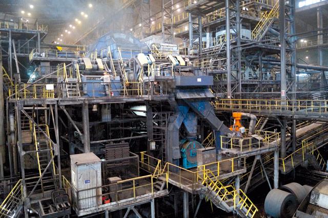 обогатительная фабрика Распадская