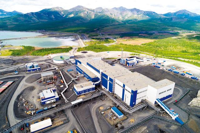 Золотодобывающая фабрика АО Полюс Магадан