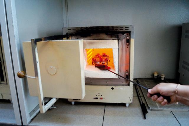 лабораторная печь. определение влажности угля