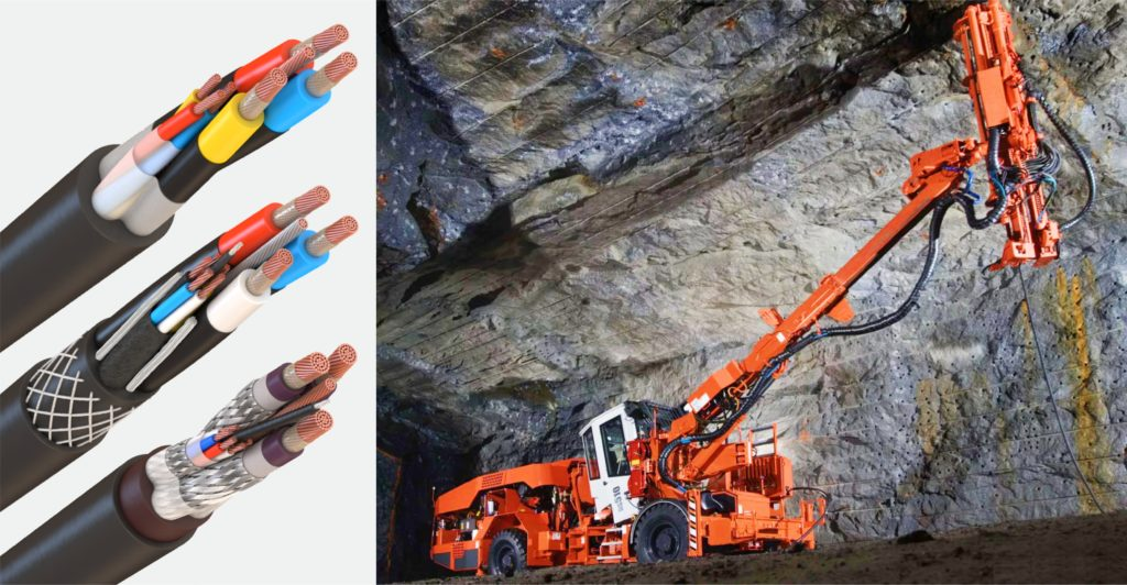 кабели для шахт