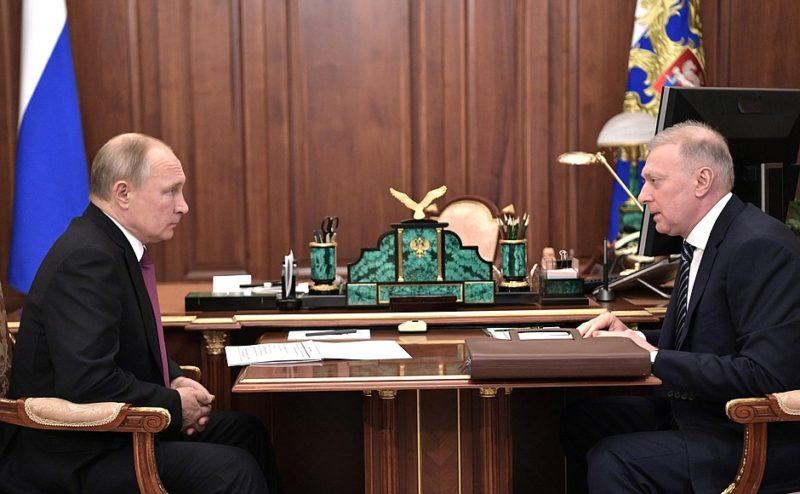 Владимир Путин Масу Бажаев
