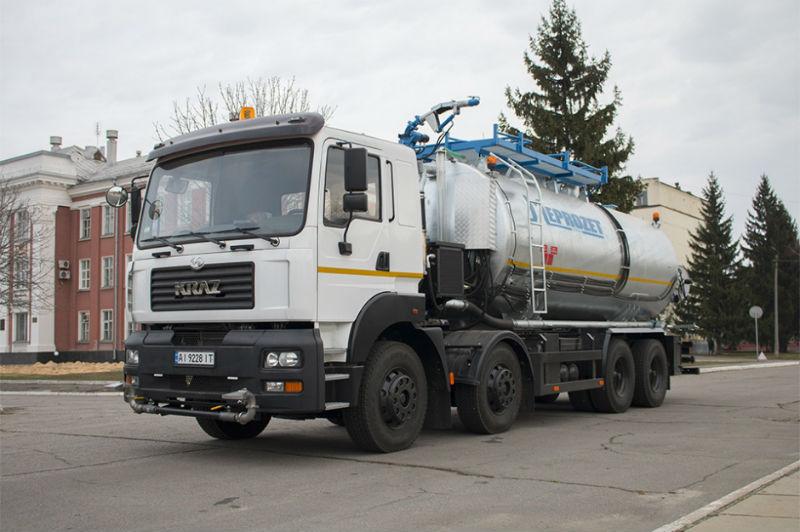 КрАЗ-7133Н4 с новой надстройкой