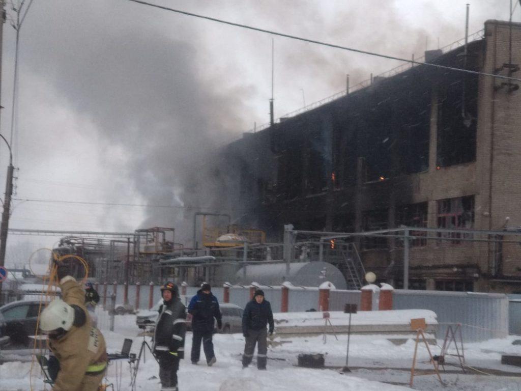 пожар завод Нефтехим