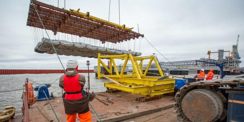 порт Сабетта строительство