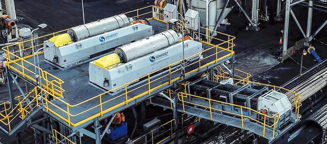 Извлечение мелкой фракции угля на оборудовании Сомерсет