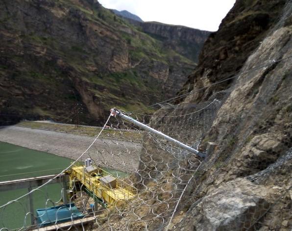 укрепление Ирганайской ГЭС
