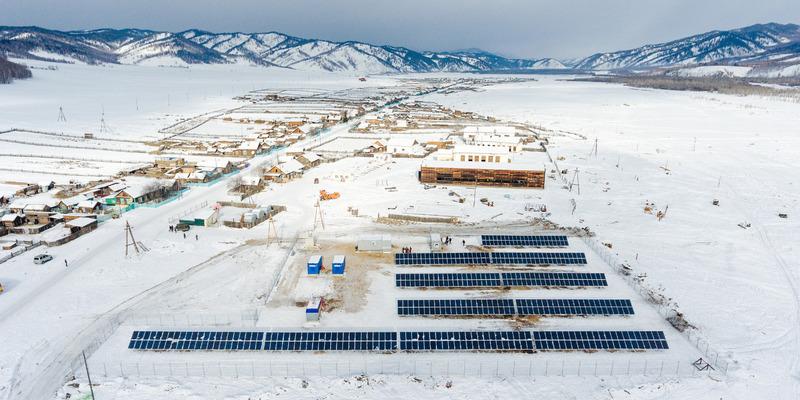 солнечные батареи на месторождении