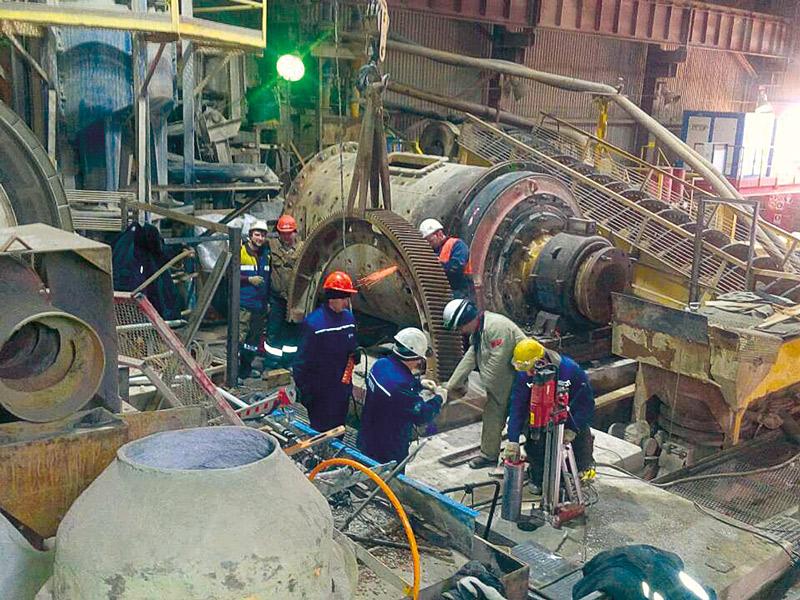 восстановительный ремонт горной техники
