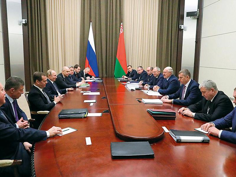 Переговоры России и Беларуси по нефтяному вопросу