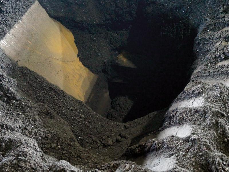 укрытые угольные склады