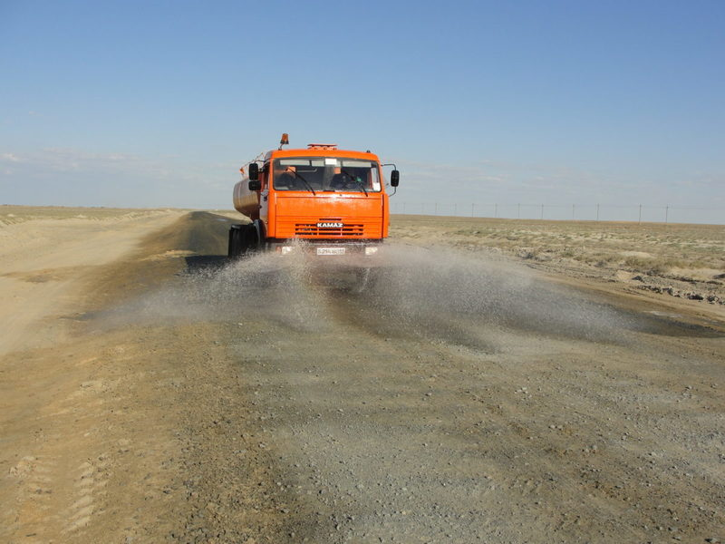 орошение технологических дорог