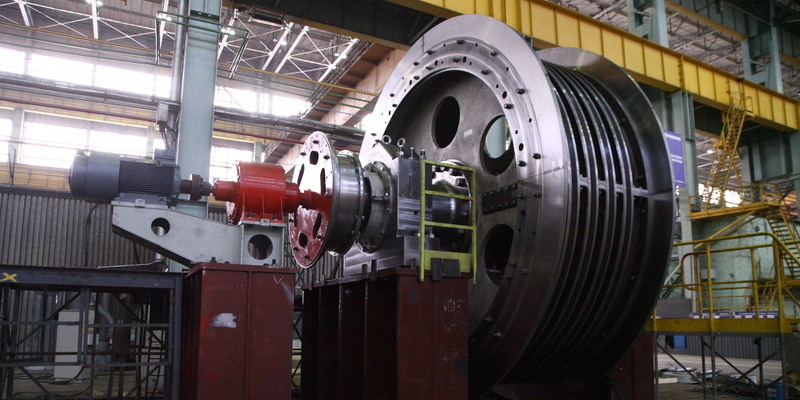 шахтная подъемная машина