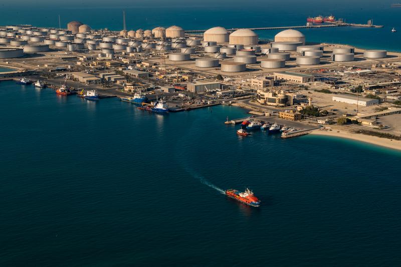 нефтяной комплекс Саудовской Аравии Рас Танура