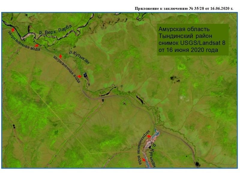 загрязнение рек в Амурской области