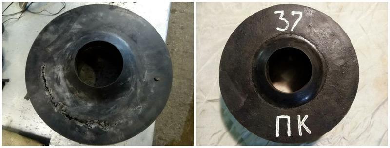 ремонт деталей шламового насоса
