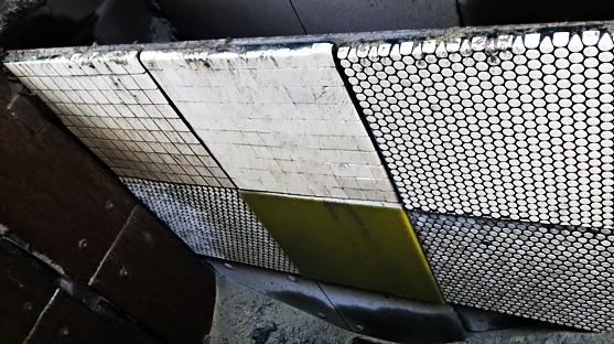 резино-керамические и полиуретановые плиты