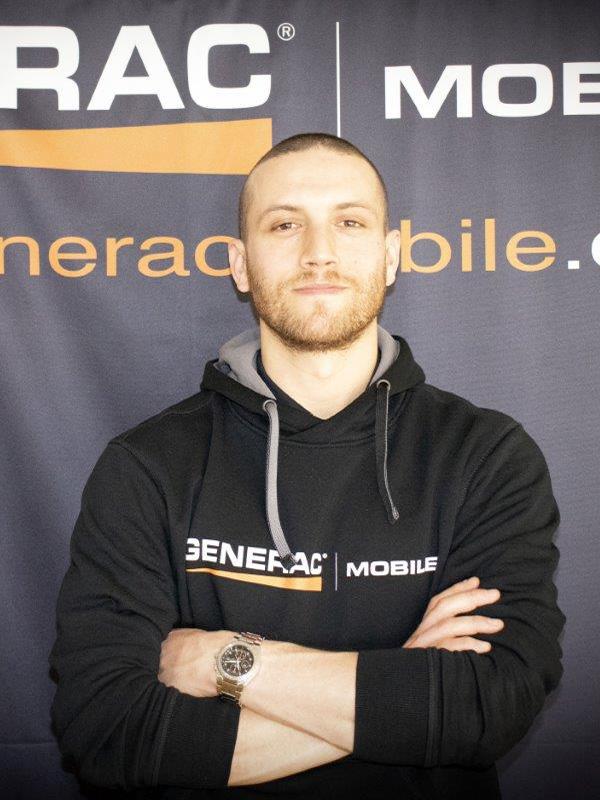 Йосеф Бронфман, менеджер по развитию бизнеса Generac Mobile