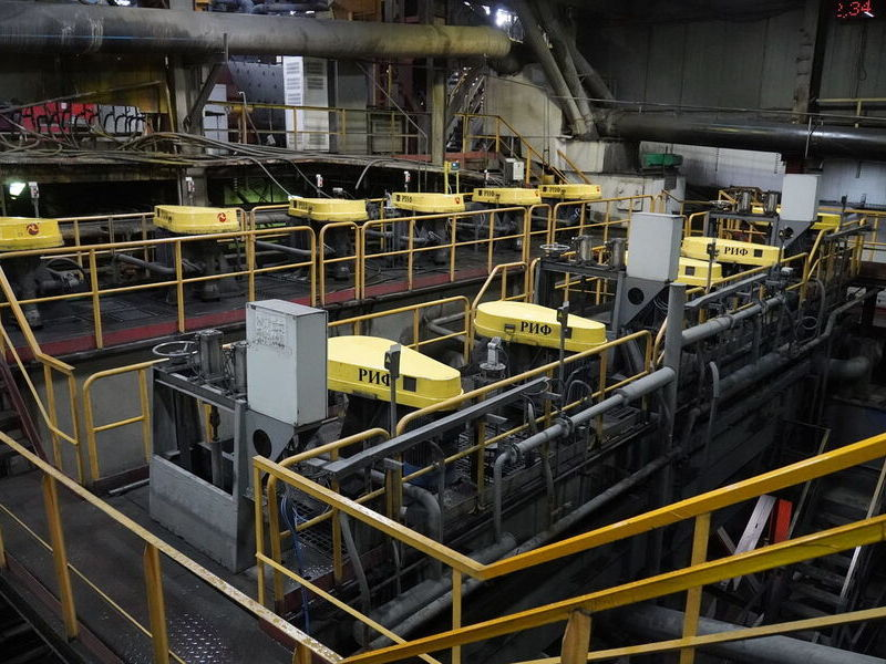 флотация руды