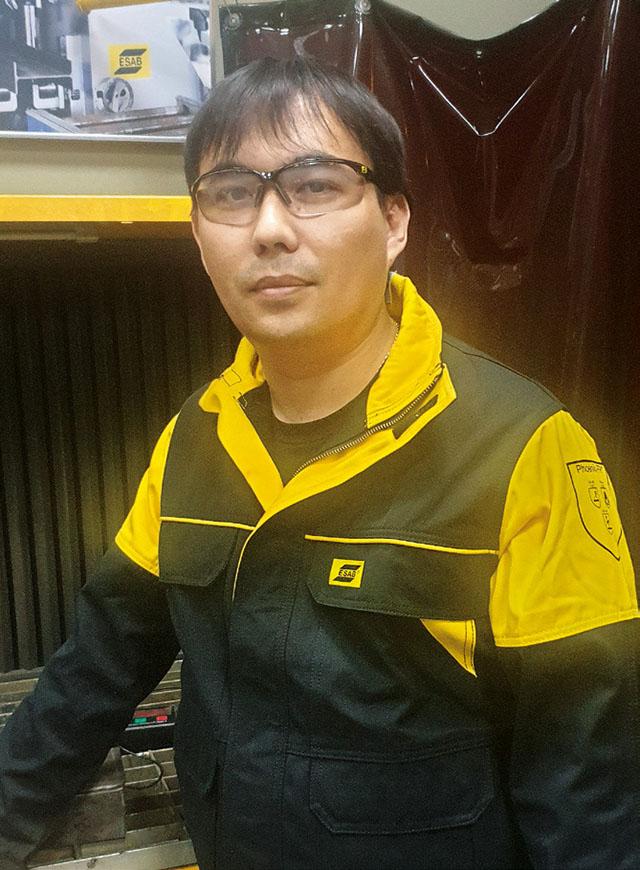 Давид Пак, руководитель направления «Ремонт и Восстановление» ESAB