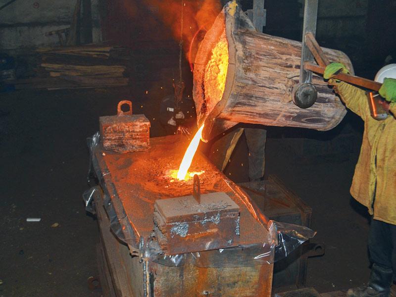 Производство запасных частей и комплектующих технологического оборудования ООО «ПКП «ТехноСталь»