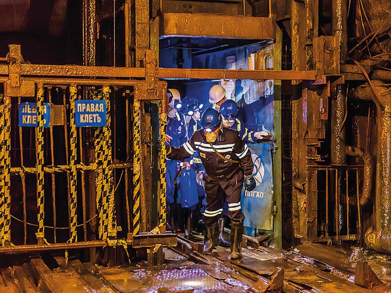 Шахтные клети. Тульский завод горно-шахтного оборудования
