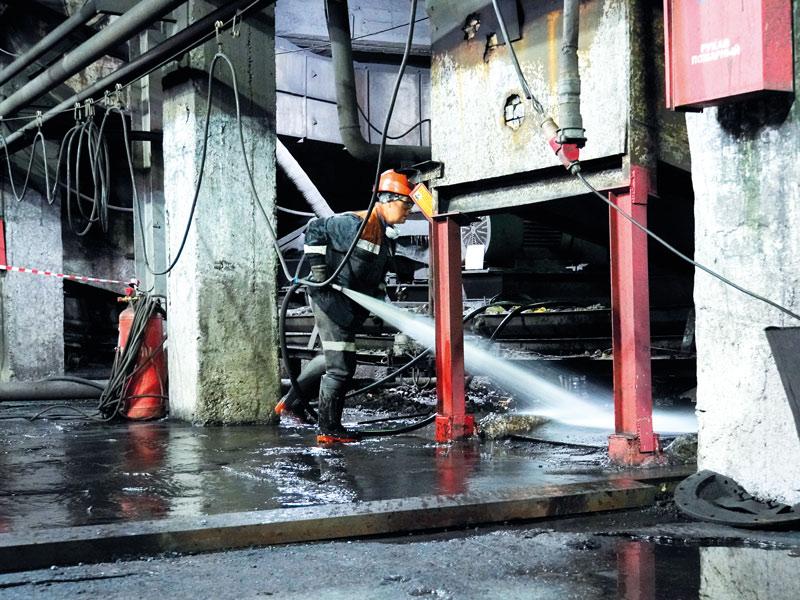 Аспирация на угольной обогатительной фабрике