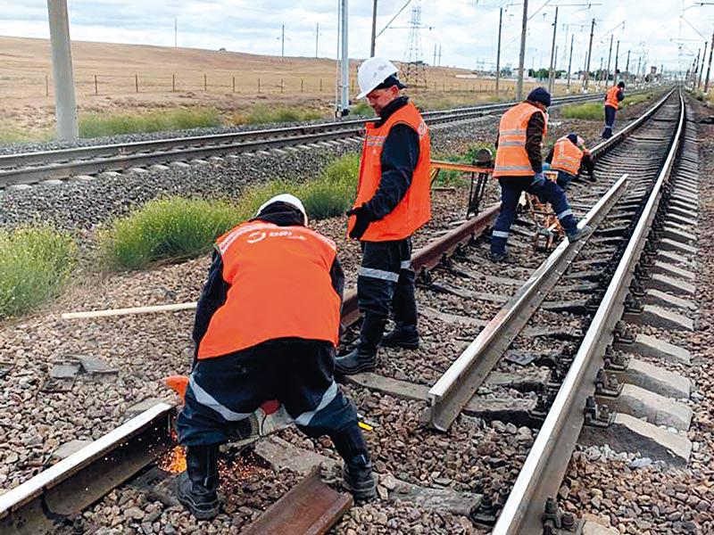 Восстановление железнодорожных путей