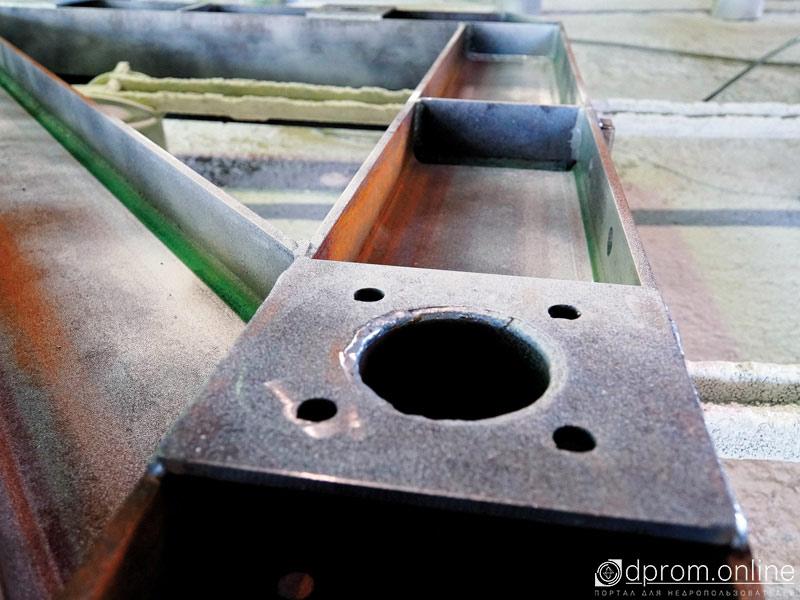 Производство шахтного конвейера
