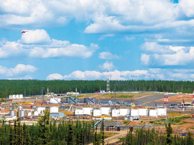 Нефтяная производственная инфраструктура