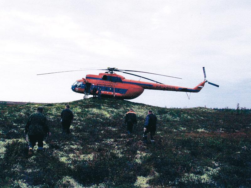 На испытании скважины Северо-Ванкорская №1
