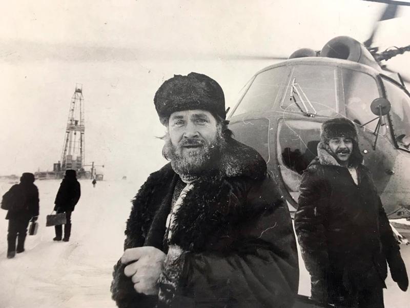 1981 г. Первые геологоразведочные партии «Енисейгазгеология»