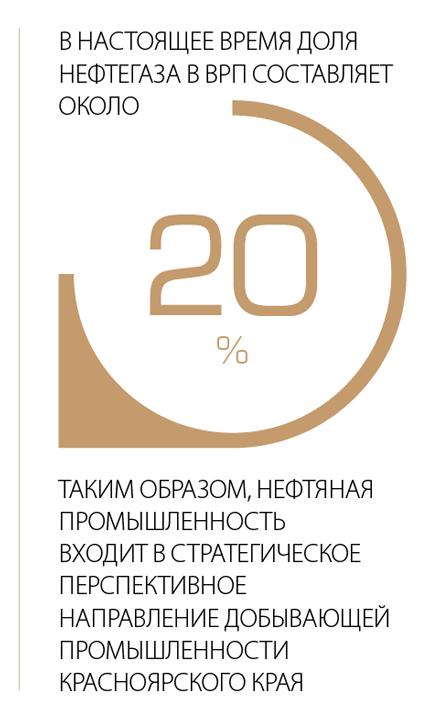 В настоящее время доля нефтегаза в ВРП составляет около 20%