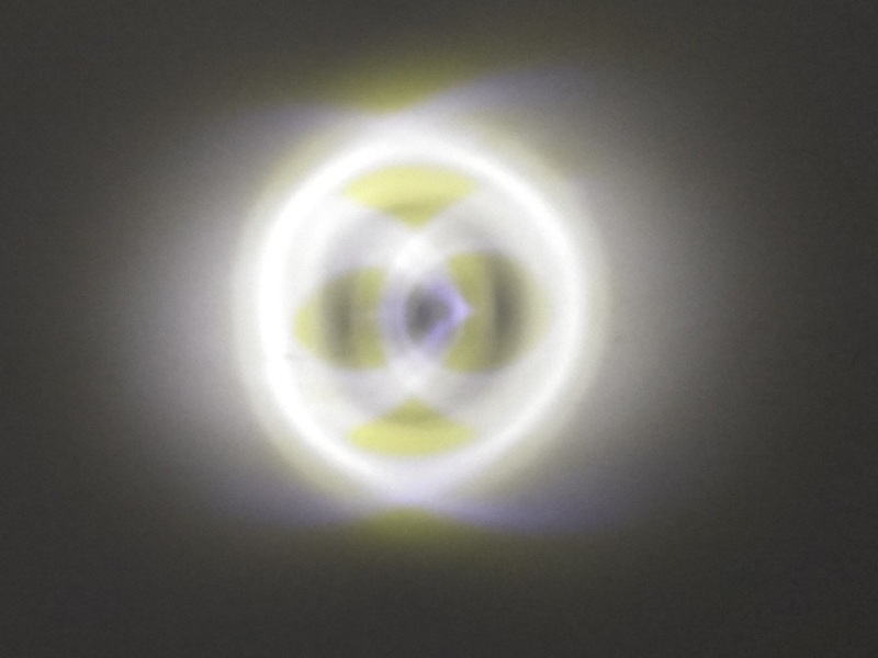 свет в шахтном светильнике