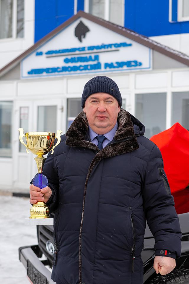 Юрий Ганичев,  машинист экскаватора, бригадир Переясловского угольного разреза