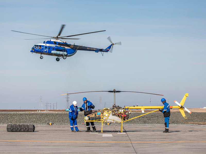 беспилотный вертолёт Тайбер
