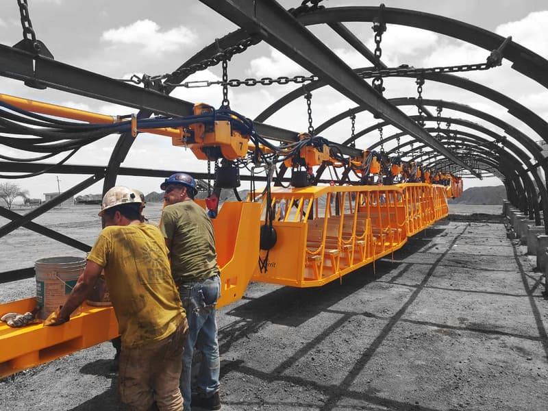 производство горно-шахтной техники
