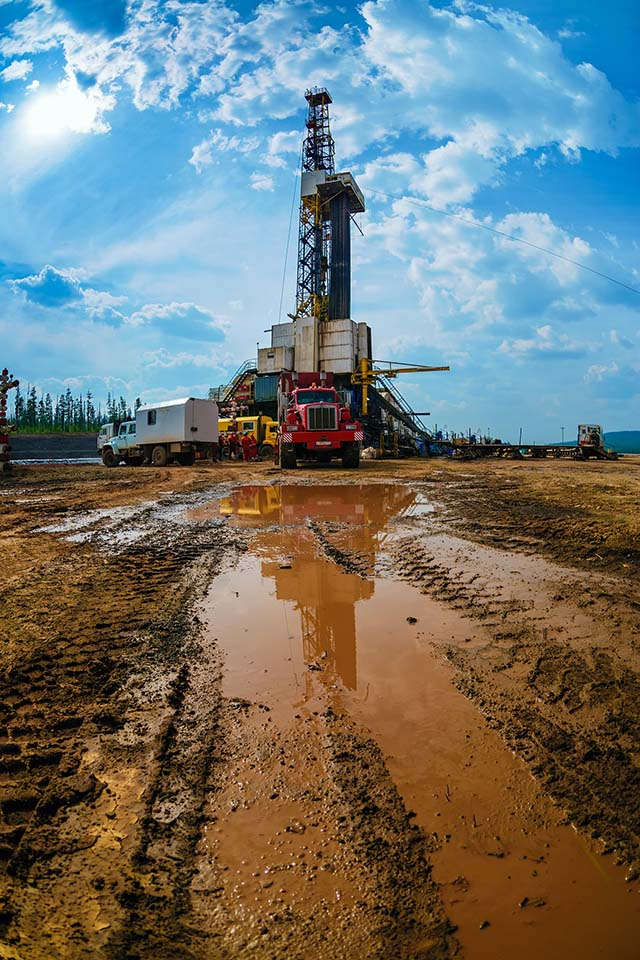 Нефтедобыча требует высокотехнологичных решений. Бурение