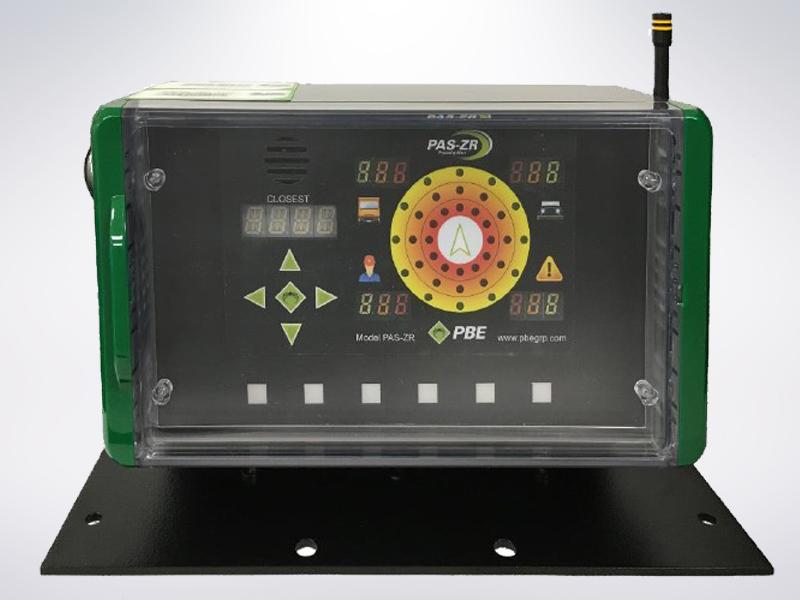 Рис.4 Контроллер системы предотвращения столкновений PAS-ZR