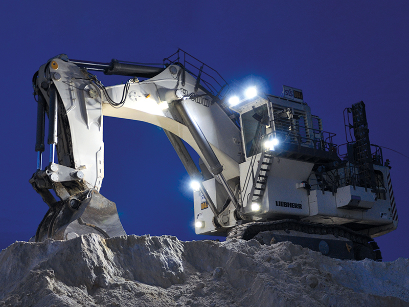Светодиодная оптика для техники горнодобывающих предприятий