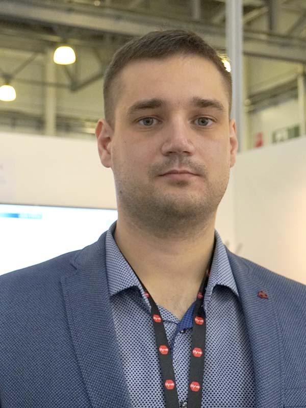Владислав Шамин, менеджер по развитию бизнеса компании GILBARCO
